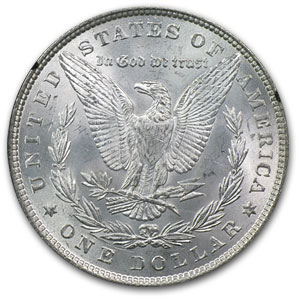 1879 Morgan Dollar MS-63 NGC - GSA Certified
